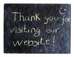 thanks for visiting our website - make yourself relevant